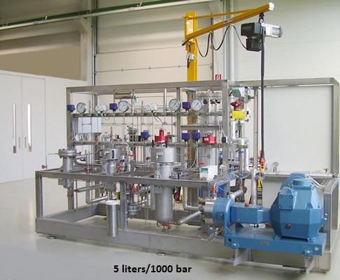 Supercritical Fluid Extraction Plants